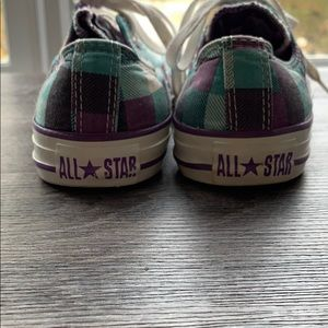 Converse Shoes - 💙💜Checkered Converse All Star💜💙